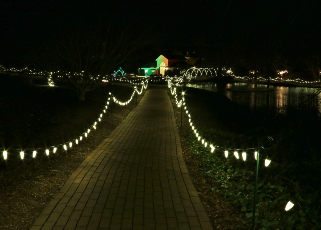 The 26th Annual Christmas In Hopelands Event Will Transform Hopelands  Gardens In Aiken, South Carolina December 9 10, 14 23, And 26 From  6:00 9:30pm.