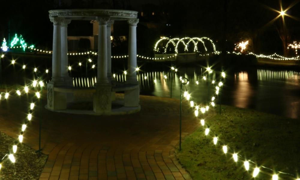 Hopeland Gardens Christmas Lights.Aiken Is Magical Visit Aiken Sc
