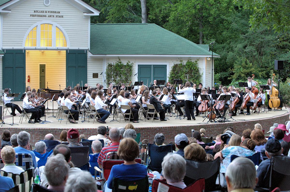 Hopelands Summer Concert Series Visit Aiken Sc